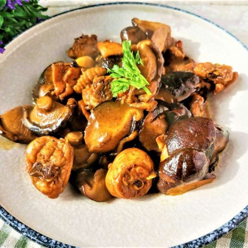 Braised Chicken Legs with Mushrooms Recipes