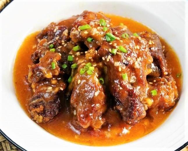 Fried and Steamed Pork Ribs   China Henan Rural Food