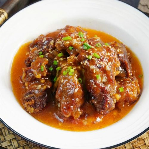 Fried and Steamed Pork Ribs China Food Recipes