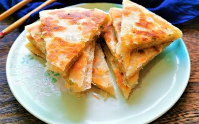 Scallion Pancakes Chinese Street Food Recipes Breakfast Ideas