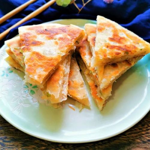 Scallion Pancakes Chinese Street Food Recipes Breakfast Ideas