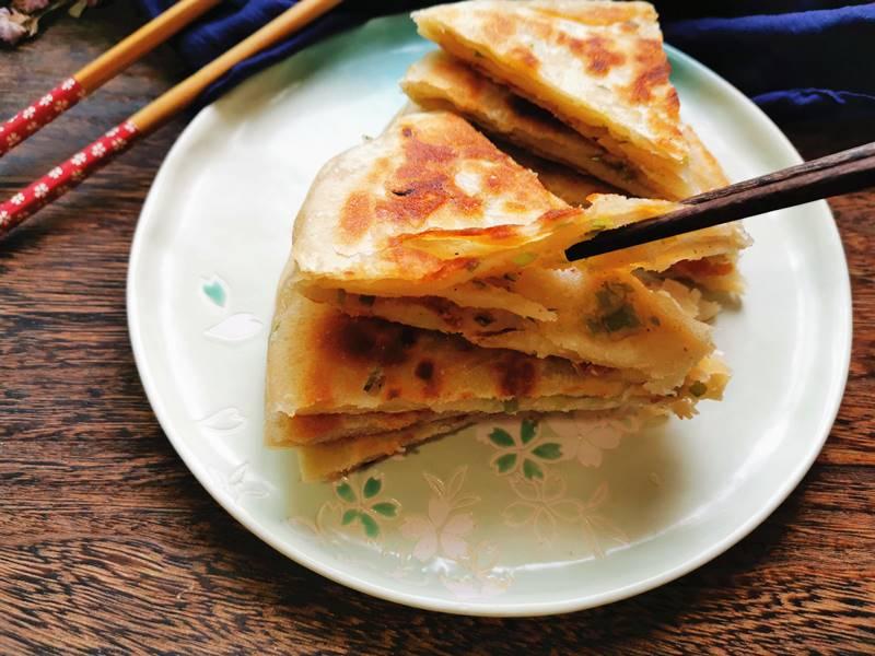 Scallion Pancakes Chinese Street Food Recipes Breakfast Ideas 10