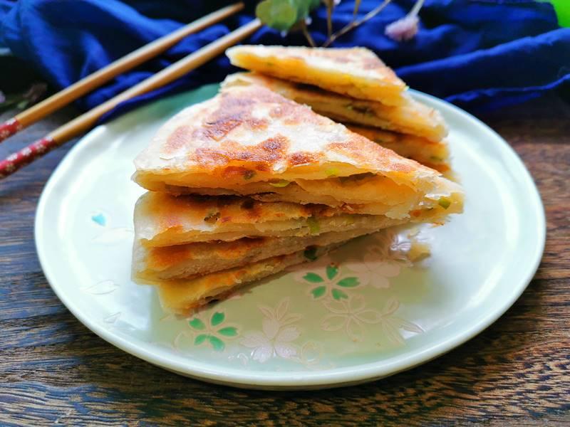 Scallion Pancakes Chinese Street Food Recipes