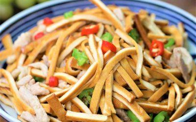 Stir-Fried Pork with Dried Tofu china food recipes