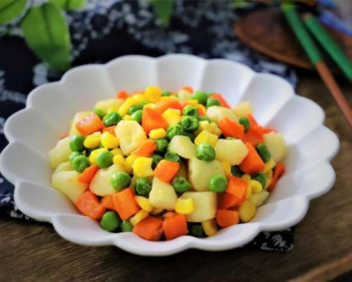Stir Fried Vegetables with Water Chestnuts