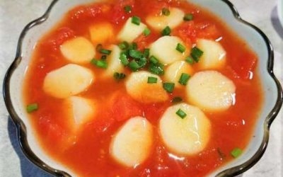 Yam and tomato soup china recipe