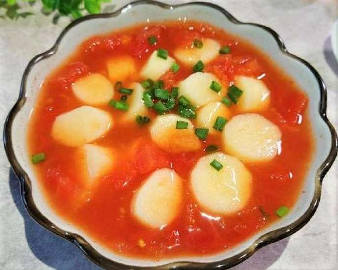 Iron Rod Yam and Tomato Soup Recipe