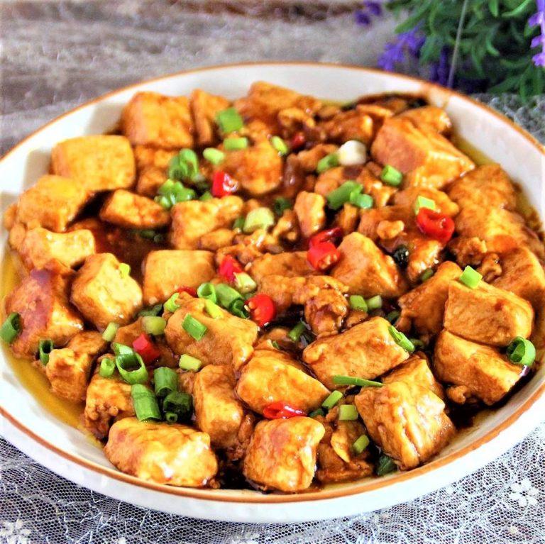 Braised Tofu and Eggs | Chinese Food
