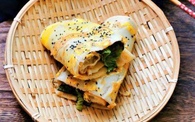 Chinese Savior Rrepe Chinese Pancakes Street China Food Snacks