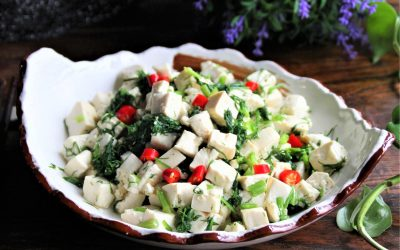 Easy Tofu Salad With Fennel Fronds Recipe