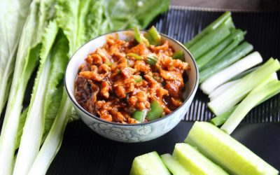 Fried Egg in Chinese Soybean Paste Recipe