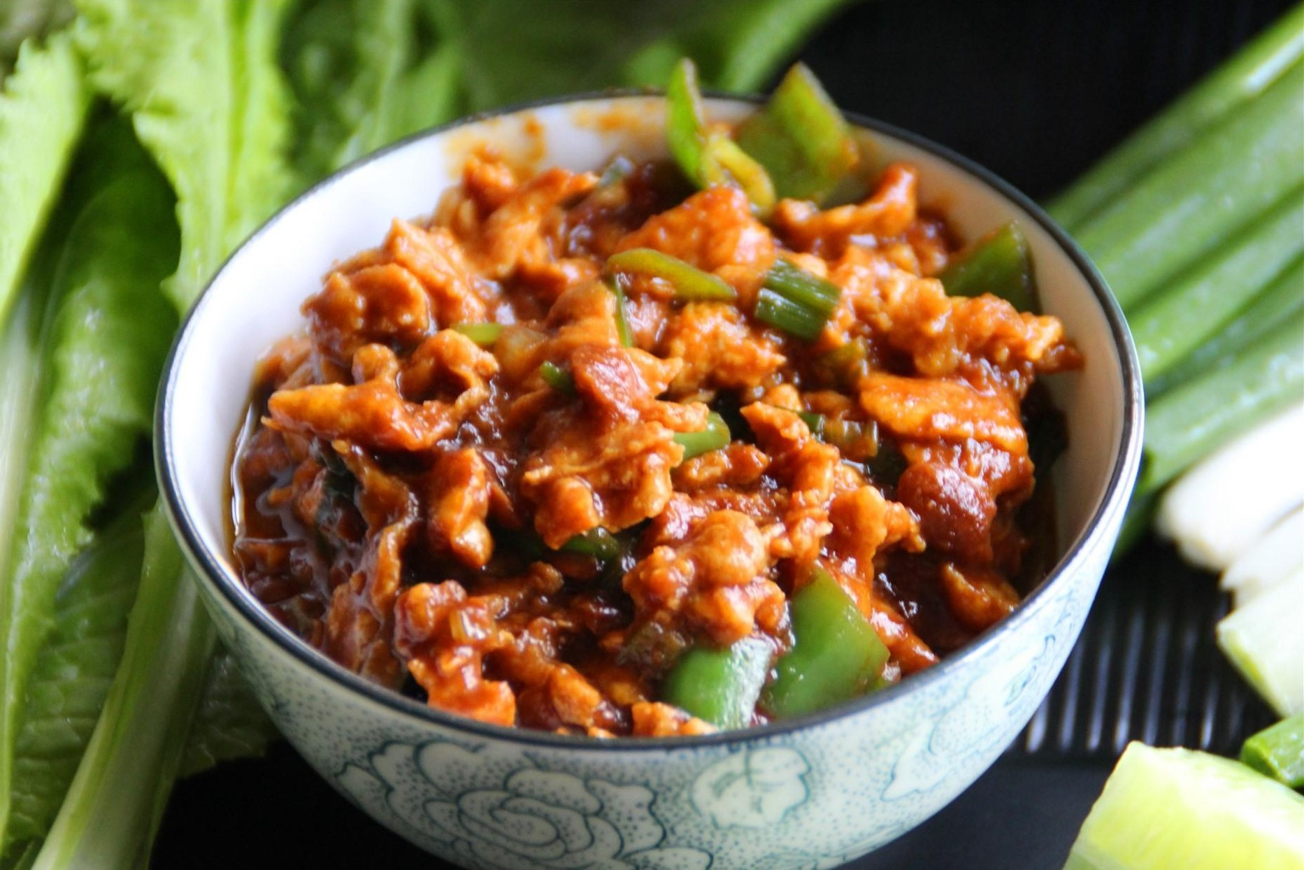 Fried Egg in Chinese Soybean Paste Recipes