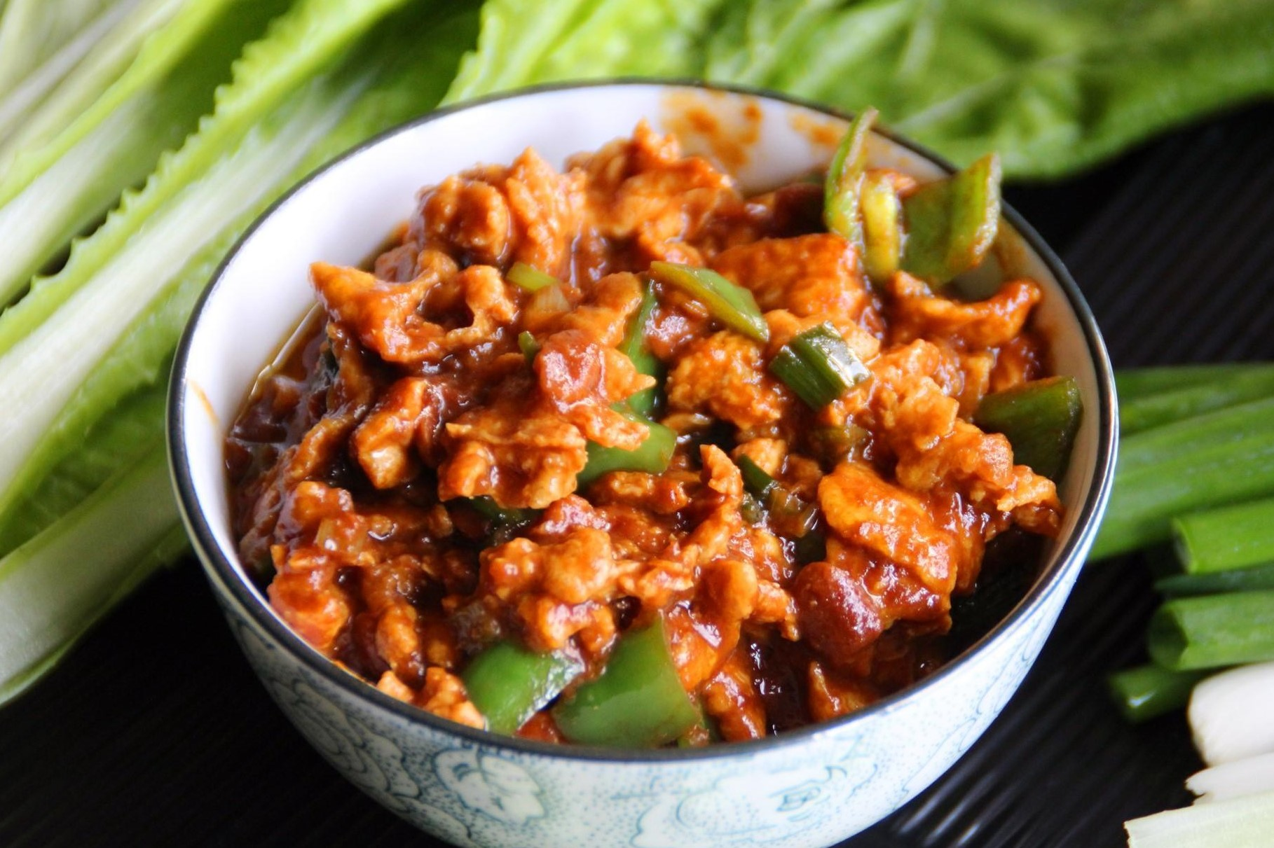 Fried Egg in Chinese Soybean Paste