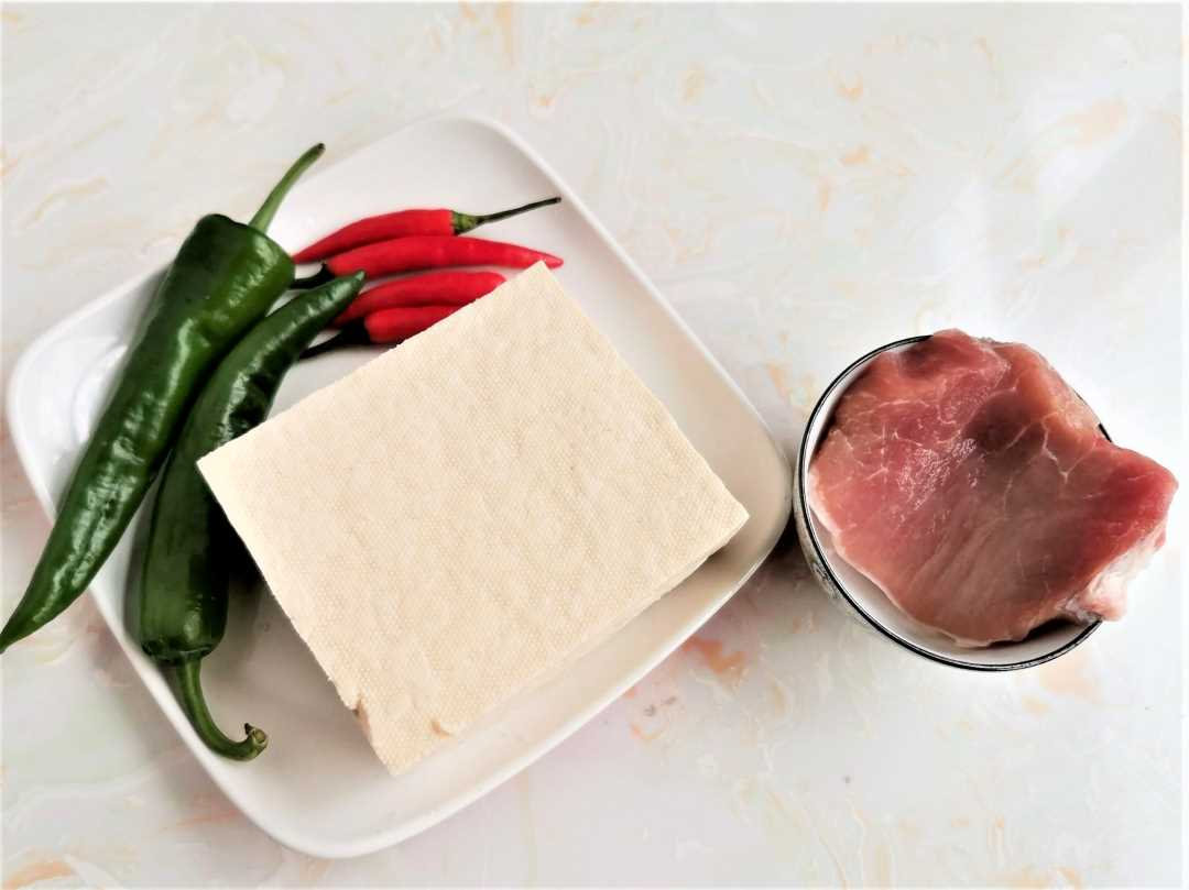 Ingredients Tofu With Minced Pork Recipe Chinese Food