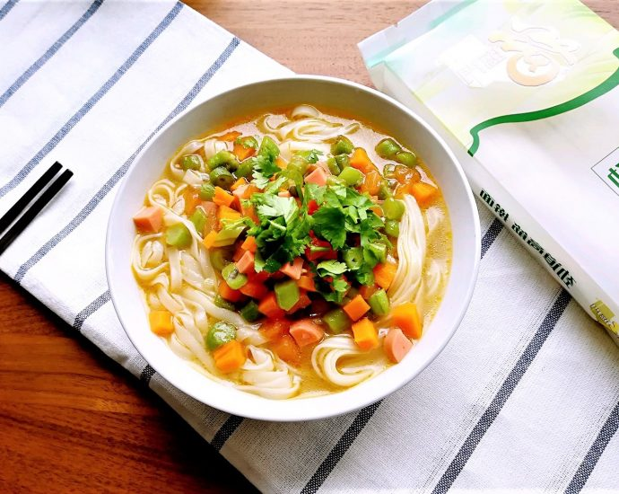 Mixed Vegetable Noodle Soup Easy Chinese Noodle Soup