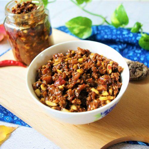 Mushroom and beef sauce recipe-1