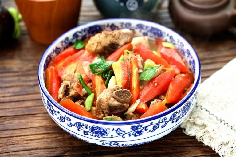 Stewed Spareribs With Carrots | Chinese Braised Pork Ribs