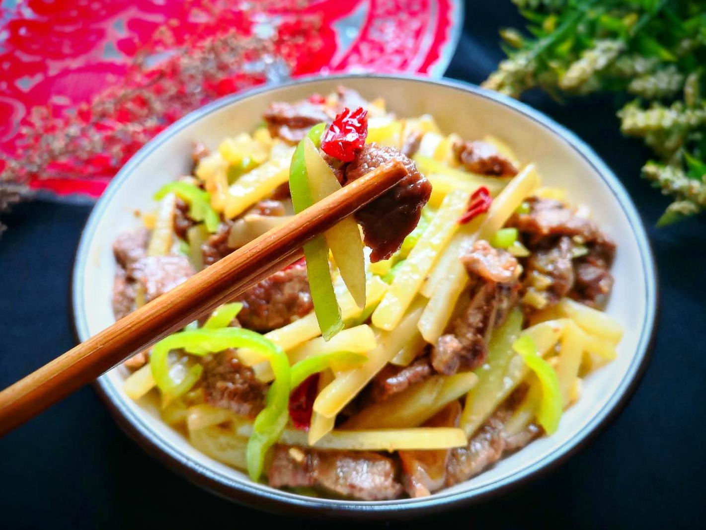 Stir-Fried Beef With Potatoes And Green Peppers Recipe 2021