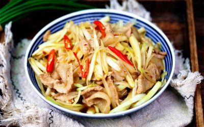 Stir-Fried Pork with Chinese Onion Recipe 2022