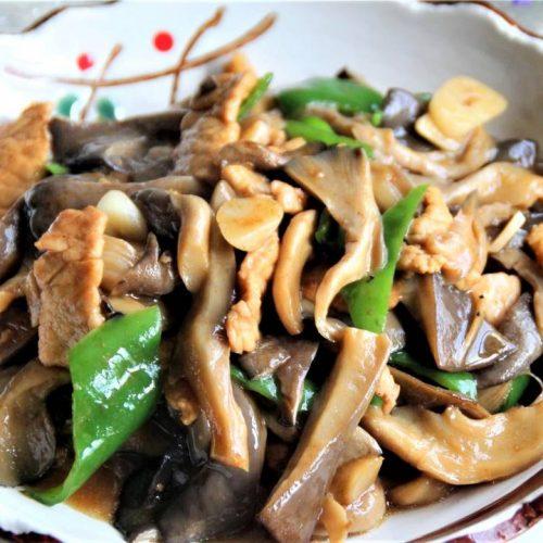 Stir fried pork with Oyster Mushroom Recipes