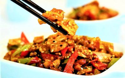 spicy chicken cartilage Chinese food recipe 15