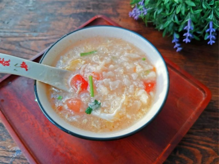 Chinese Breakfast Flour Soup Recipe