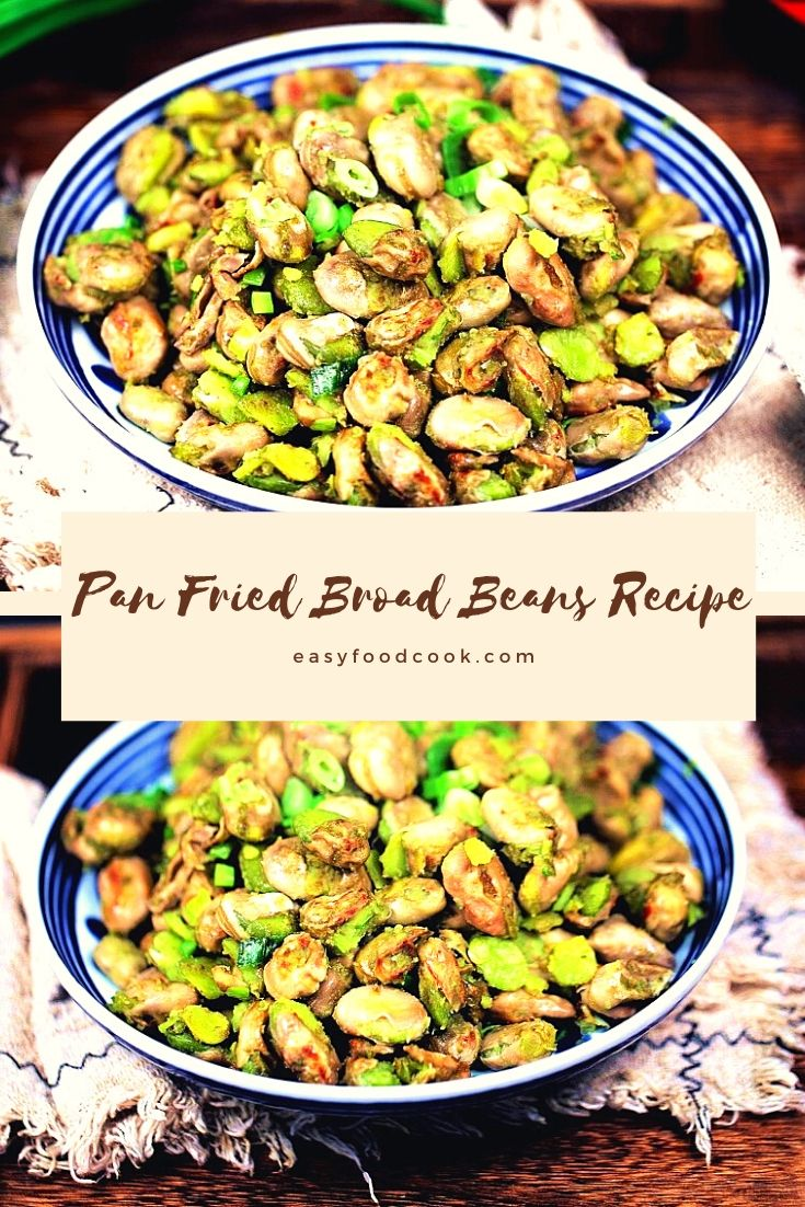 Pan fried broad beans recipe how to cook fava beans 2020