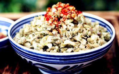 Steamed Acacia Flowers Recipe