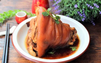 Stewed pork knuckle pork hock recipe