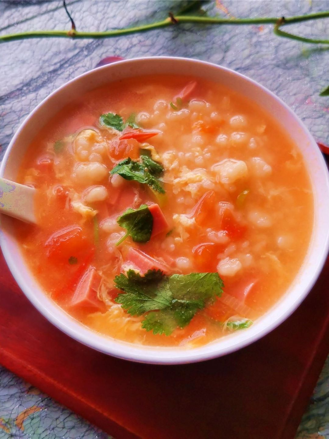 Tomato And Egg Flour Pimple Soup 2021