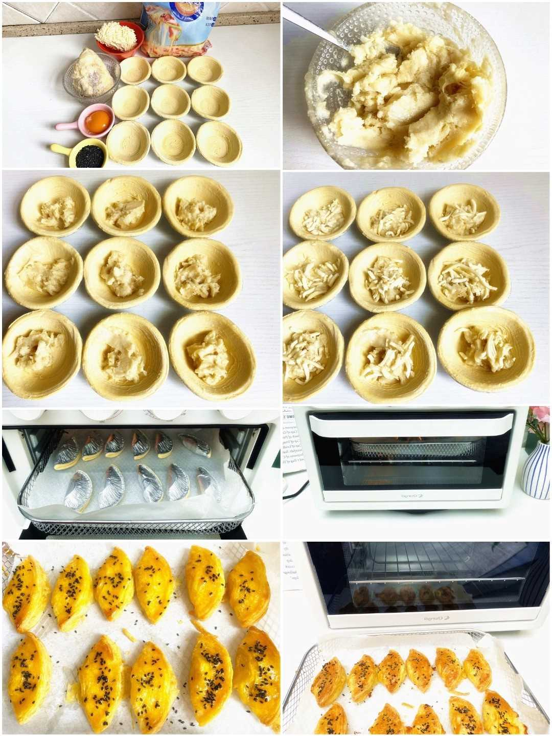 Crispy Durian Pastry Recipe Steps