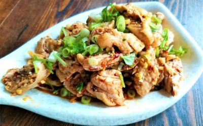 Simple chicken wings salad recipe