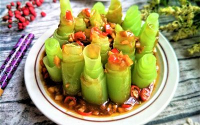 Celtuce Stem Salad Recipe chinese cold dish 2020