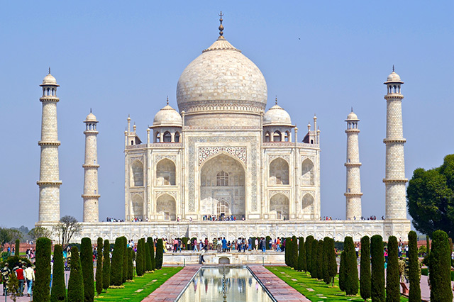 Taj Mahal, India Top 15 tourist attractions in the world
