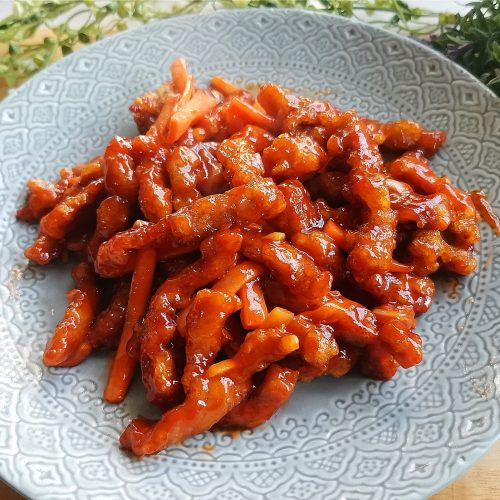 Sweet And Sour Pork Tenderloin Recipe
