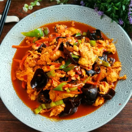 chinese scrambled eggs with fish sauce1b