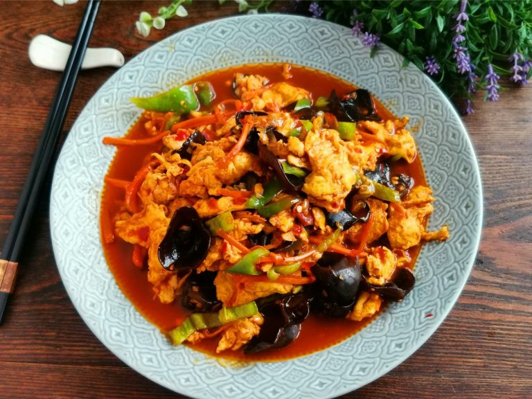 Chinese Scrambled Eggs With Fish Sauce