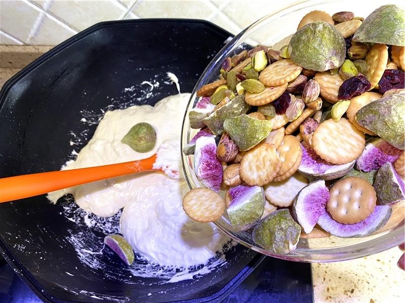 snowflake crisp liziqi recipes06